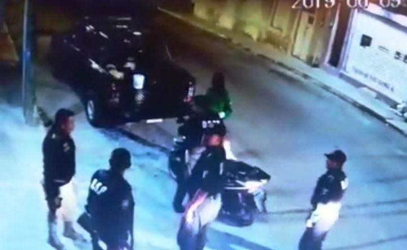 El video de este operativo ha generado confusión entre la ciudadanía. (Captura de pantalla)