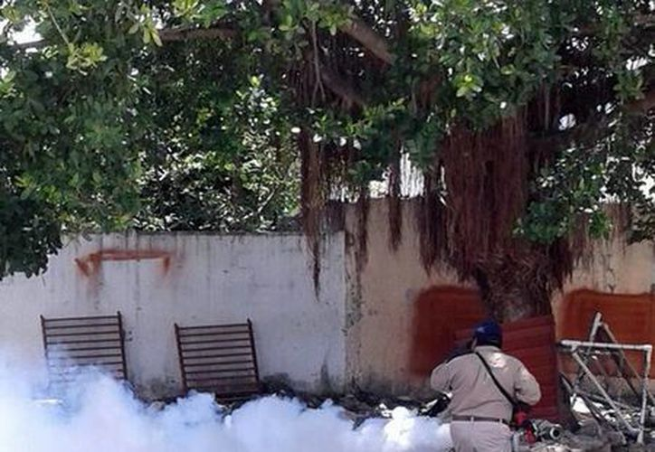 Las 60 escuelas de nivel básico en Cancún, que servirán como refugios anticiclónicos, serán nebulizadas. (Redacción/SIPSE)