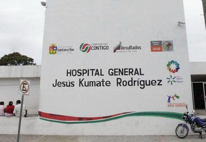 """Los procedimientos se realizarón en  el Hospital General """"Jesús Kumate Rodríguez"""". (Redacción/SIPSE)"""