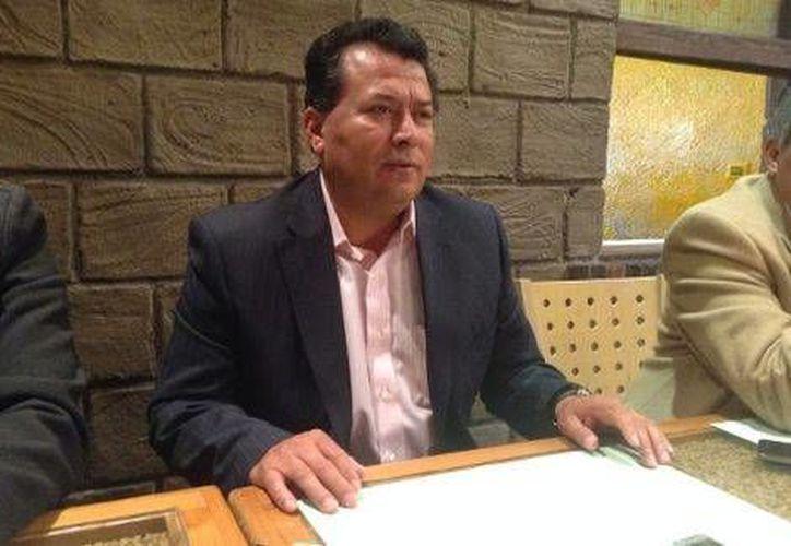 El secretario general de la sección 23 del SNTE en Puebla, Emilio Salgado Néstor. (Jaime Zambrano/Milenio)