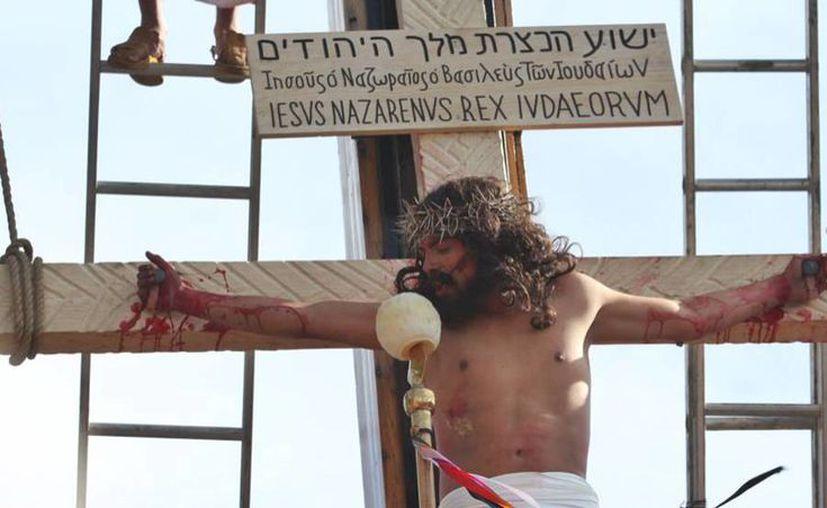 Desde el Domingo de Ramos hasta el día de la Resurrección, Iztapalapa se convierte en Jerusalén. (Geo Vallejo).