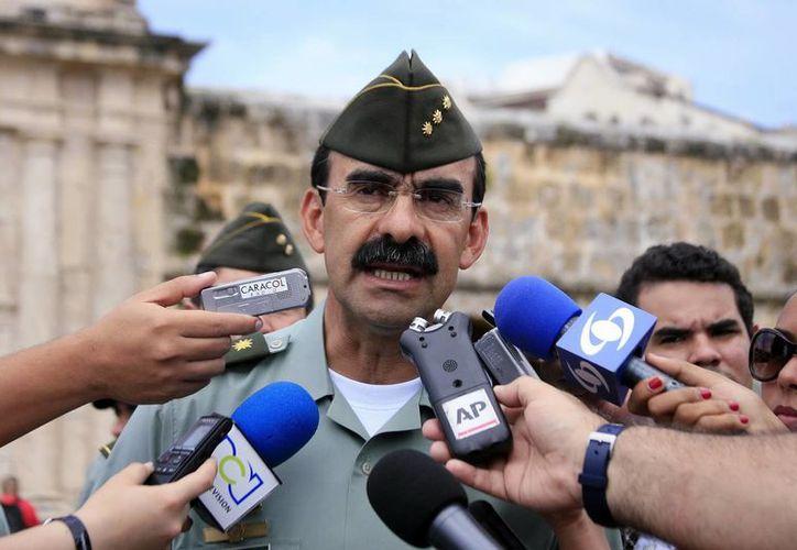 Foto de archivo del director general de la Policía Nacional de Colombia, general Rodolfo Palomino. (EFE)