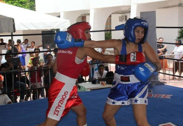 Dulce González derrotó a Goreti Villanueva. (Redacción/SIPSE)