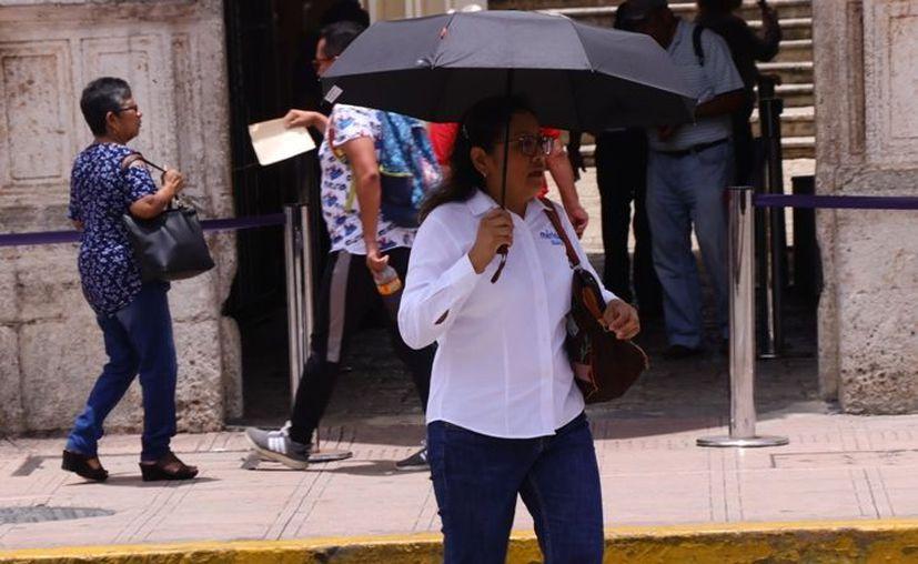 No se descarta lloviznas vespertinas en algunas zonas de la Península de Yucatán. (Jorge Acosta)
