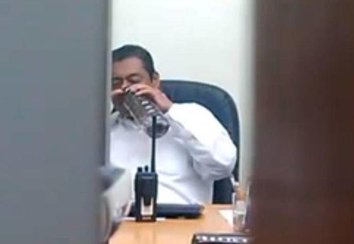 Martínez Patricio dijo que padece  insuficiencia renal crónica y cardiopatía. (Captura de pantalla)