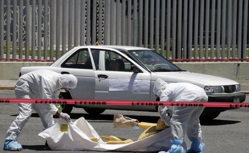 Según datos del Inegi, los estados con mayor disminución en la incidencia de homicidios son: Durango, Coahuila y Tamaulipas. Imagen de contexto solo para fines ilustrativos. (Archivo/Notimex)