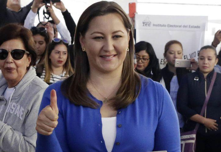 Martha Erika es la candidata de la coalición Por Puebla al Frente. (vanguardia.com)