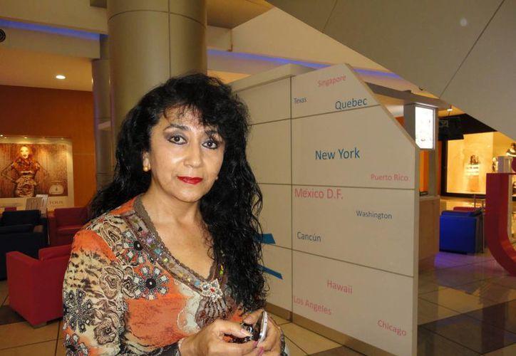 La investigadora Gina Villagómez Valdez. (Milenio Novedades)