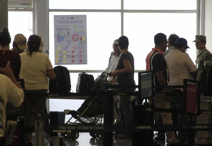 El equipo de Rayos X del Aeropuerto Internacional de Chetumal retomó su operatividad. (Ángel Castilla/SIPSE)