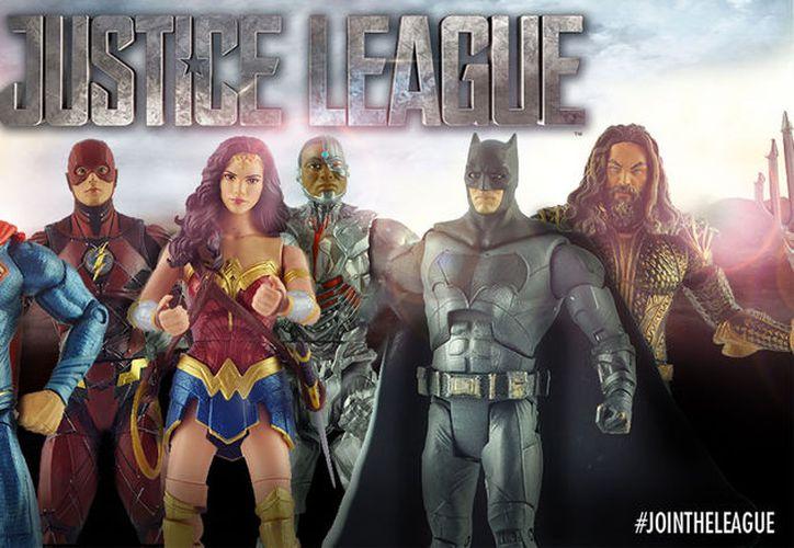La línea de figuras de acción de la Liga de la Justicia es revelada. (CinePremiere)