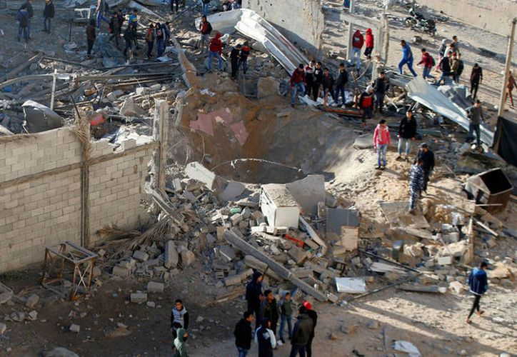 La mayoría de las muertes palestinas ocurrieron el pasado 14 de mayo. (Reuters)