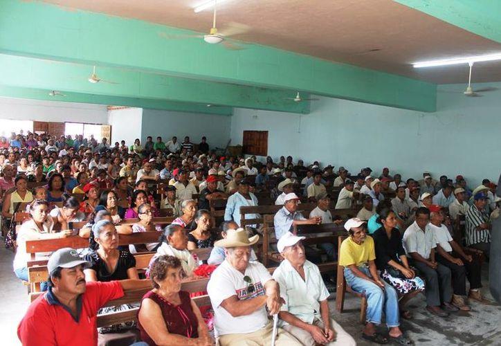 Se ha realizado un consenso entre habitantes de la comunidad y los ejidatarios para  proponer los terrenos que albergarán al aeropuerto. (Edgardo Rodríguez/SIPSE)