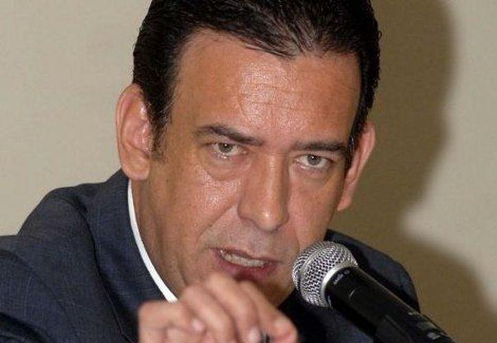 """""""Tarde o temprano me enfrentaré"""" a Calderón en dicha corte dijo  ex gobernador de Coahuila. (Archivo SIPSE)"""