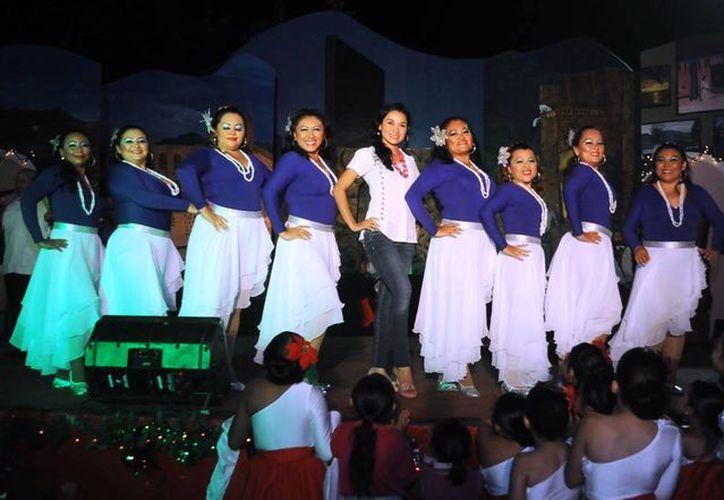 """El Festival de Fin de Año se realizó en el parque de """"Los Lápices"""". (Cortesía/SIPSE)"""