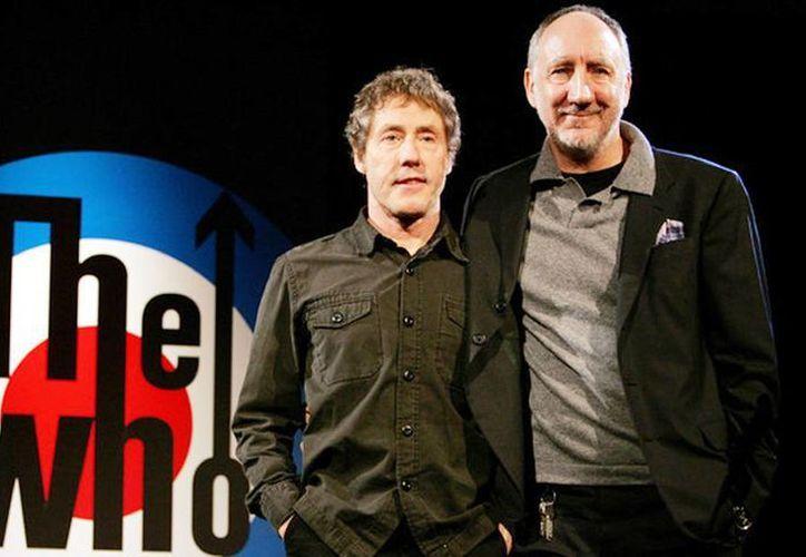 """Roger Daltrey y Pete Townshend anuncian una gira con un """"largo adiós"""". (Archivo/Agencias)"""