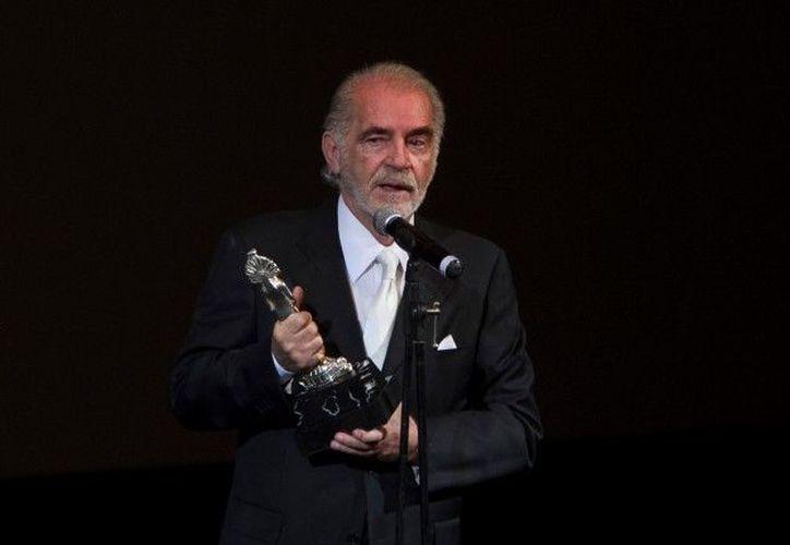 Este viernes falleció el actor Fernando Luján. (Cuartoscuro)
