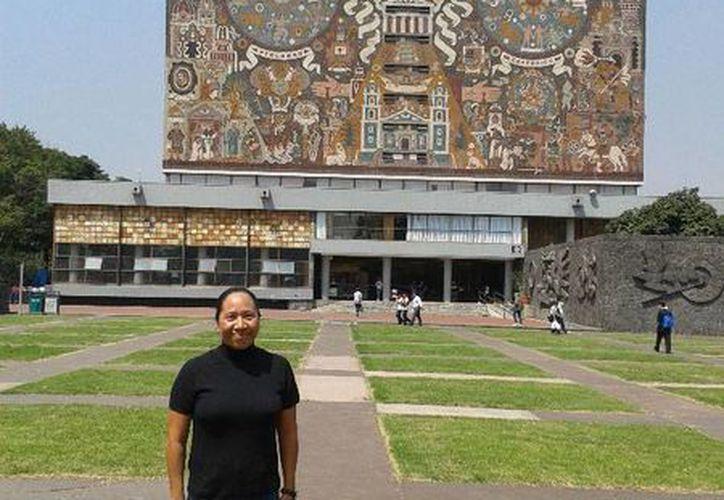 La estancia de Karina Amador Soriano se desarrolló del 23 de septiembre al 05 de octubre del año en curso. (Cortesía/Uqroo)