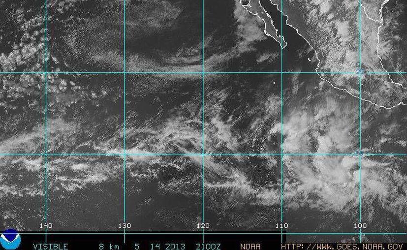 El sistema se mueve al oeste-noroeste a 24 kilómetros por hora. (Foto: NOAA)