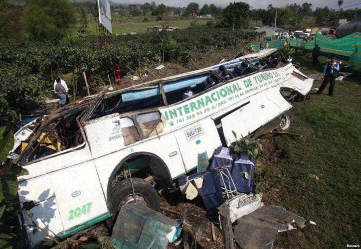 Con la tragedia de este lunes, suman tres los accidentes ocurridos en carreteras colombianas en el largo fin de semana. (Foto de contexto/Archivo/Reuters)