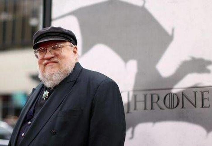 George R.R. Martin (foto) dio a conocer el retraso del último libro de la serie de 'Game of Thrones', aunque espera que puede tardarse varios meses para que 'The Winds of Winter' salga a la luz.  (AP)