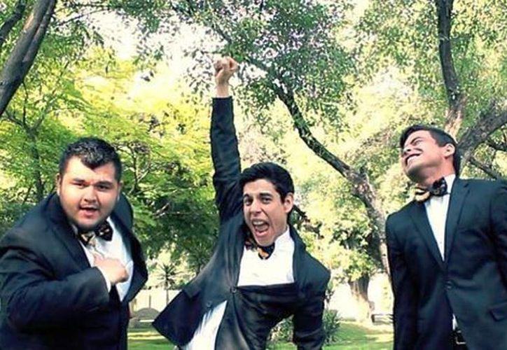 Pedro, Erick y Jesús formaron el trío desde 2009 y cuentan ya con un disco titulado 'Obrando en grande'. (Milenio/LosTresTristesTigres)