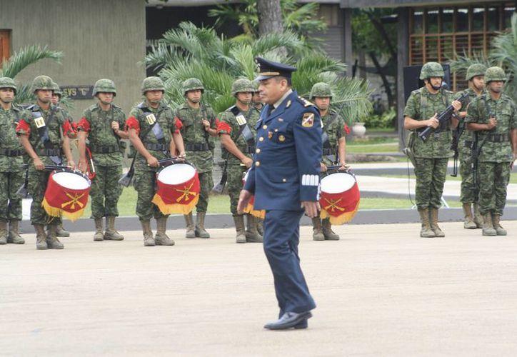 Antes de llegar a Quintana Roo, el general Dagoberto Espinosa Rodríguez fungió como comandante de la Sexta Zona Militar, en Saltillo, Coahuila. (Harold Alcocer/SIPSE)