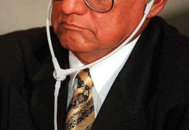 José de Jesús Gutiérrez Rebollo falleció el jueves tras una intervención médica por el cáncer que padecía. (Agencias)