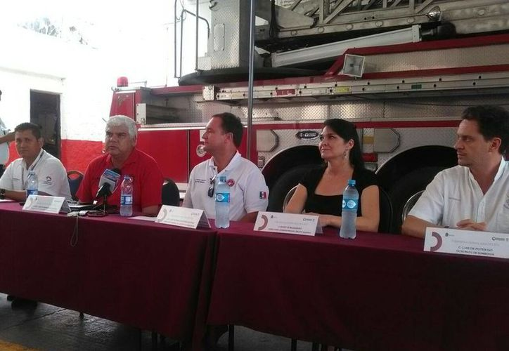 El evento, según los organizadores, tiene el objetivo de profesionalizar a los elementos. (Israel Leal/SIPSE)
