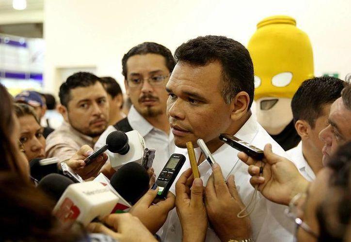 El gobernador, Rolando Zapata Bello concluirá su gestión el próximo 30 de septiembre sin pasivos con proveedores. (SIPSE)