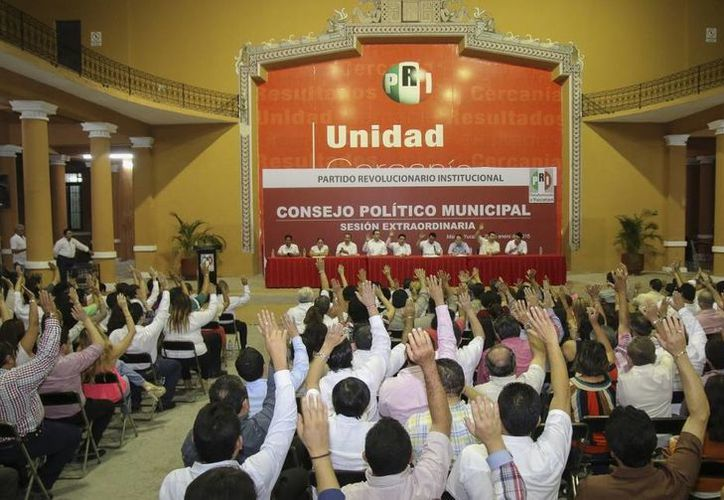 El PRI elegió a delegados que ratificarán a sus candidatos a la alcaldía y las diputaciones por Mérida. (SIPSE)