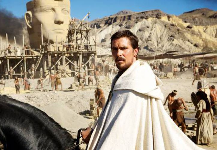 'Exodus', protagonizada por Christian Bale, también fue vetada en Marruecos y Egipto. (variety.com)