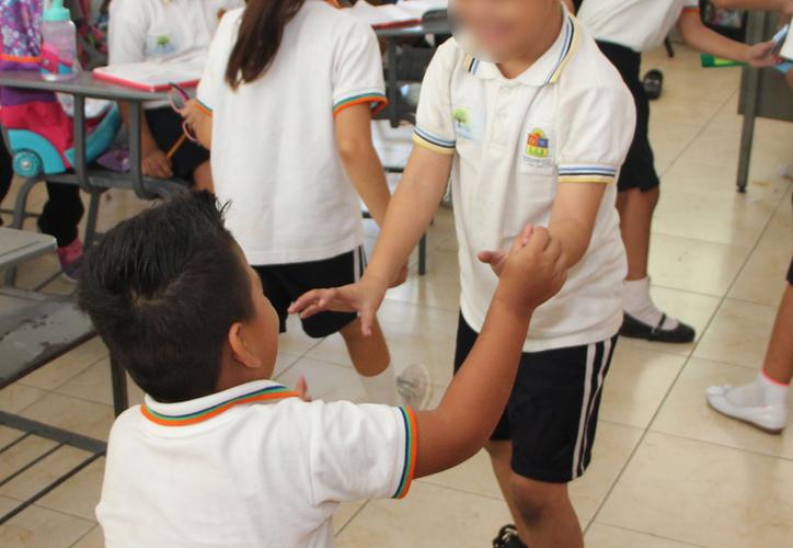 El comportamiento violento inhibe las habilidades sociales de los menores de edad, considera  especialista. (Paola Chiomante/SIPSE)