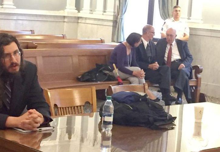 Michael Rotondo en su primer audiencia en la corte (Foto: Syracuse)