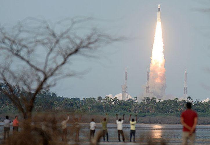 El GSLV fue desarrollado por la Agencia India de Investigación Espacial (ISRO) para que Nueva Delhi no dependa de otros países para acceder al espacio. (RT)
