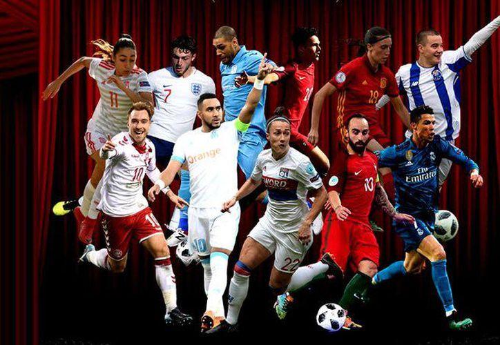 Un total de 11 jugadores y jugadoras están nominados para el premio al gol de la temporada UEFA. (Medio Tiempo)
