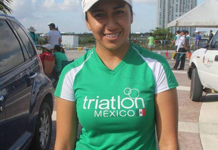 La atleta viajará el 12 de abril a la sede clasificatoria para el Mundial. (Raúl Caballero/SIPSE)