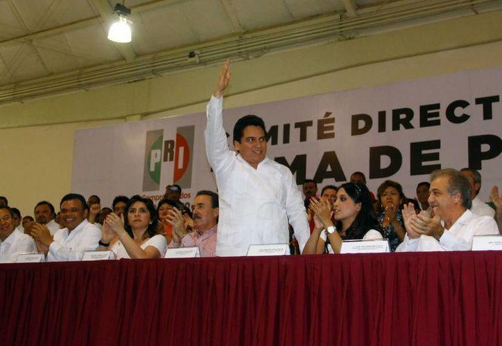 Carlos Pavón Flores había sido líder estatal del PRI desde diciembre del 2013. (Archivo/ SIPSE)