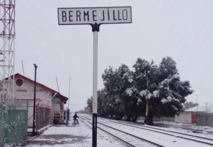Durango tiene ya 13 municipios con nieve. (Martha Casas/MVS Noticias)