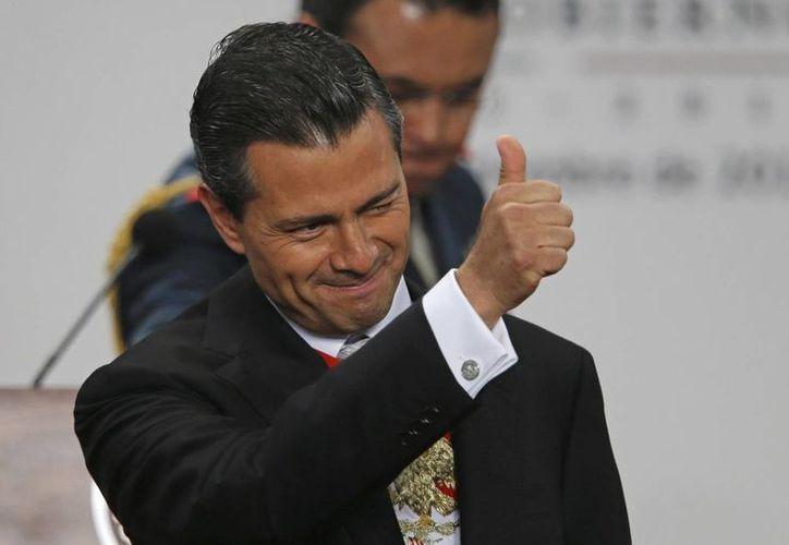 Peña Nieto aseguró que respetará los derechos de todos. (Agencias)