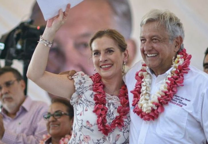 La madre de Beatriz Gutiérrez Müller, esposa del presidente Andrés Manuel López Obrador, murió la noche de este lunes.  (lopezobrador.org.mx)