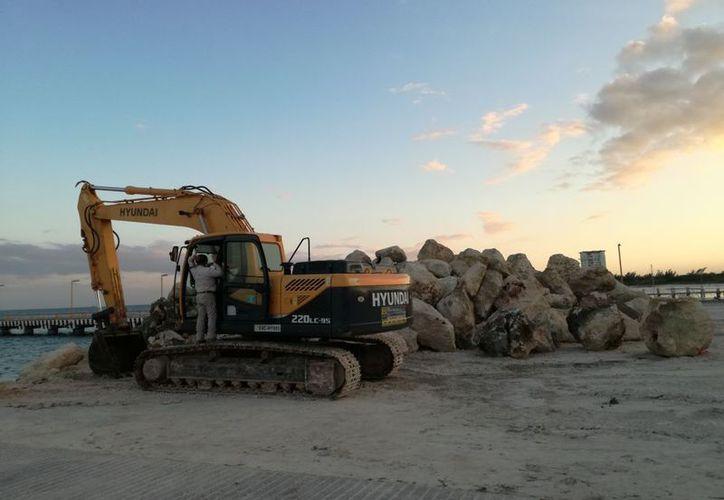 Hasta diciembre de 2015 la primera fase de la obra llevaba 20% de avance con una inversión de 14 millones de pesos, y la obra se detuvo. (Israel Leal)