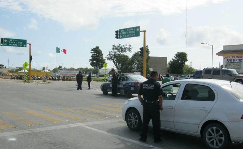 Contratarán más elementos policíacos para proteger a la ciudadanía. (Loana Segovia/SIPSE)