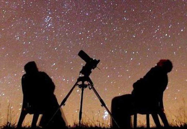 """Este año, la Noche de las Estrellas 2013 tiene por eslogan """"El Universo y el Agua"""". (Archivo SIPSE)"""