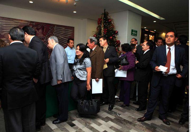 Reunión de la Comisión Política Nacional del PRI. (Agencia Reforma)
