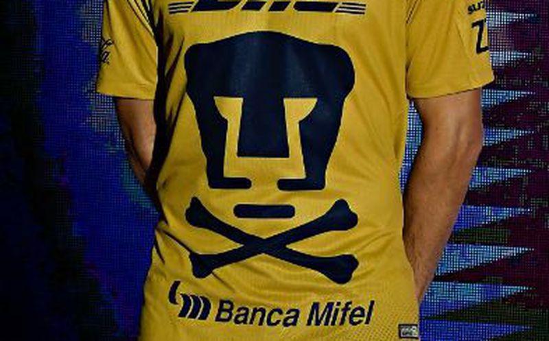 e11e2edecc7a9 El jersey especial de los universitarios conserva el puma al centro.  (Twitter)