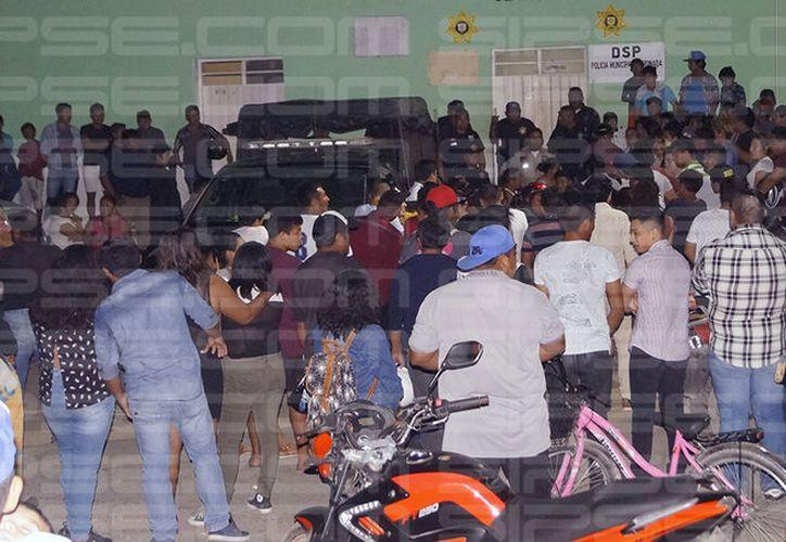 Vecinos de Seyé exigen mayor seguridad y presencia de la policía. (Milenio Novedades)