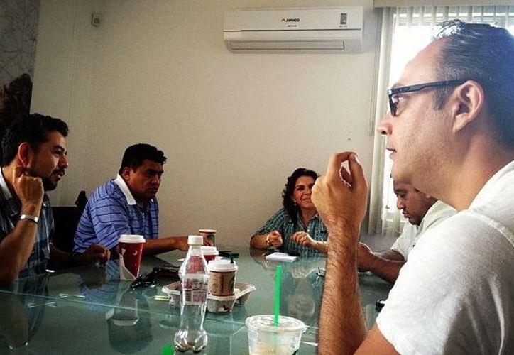 Ivonne Ortega se reunió ayer con sus ex colaboradores. (Milenio Novedades)