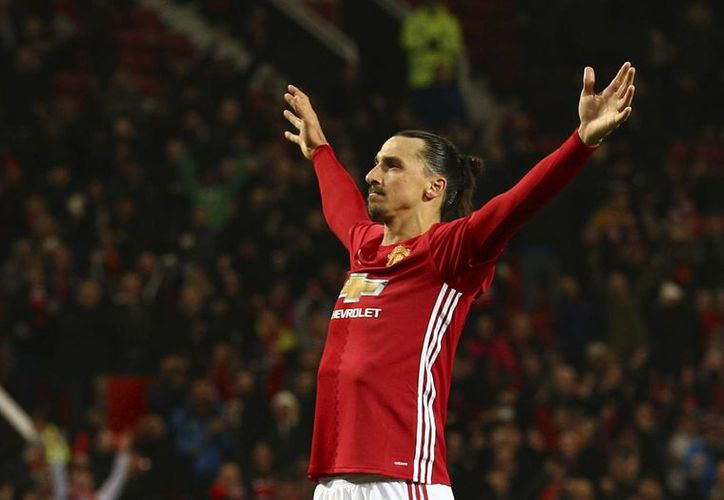 El Toluca buscará jugar un partido amistoso ante el Manchester United de Zlatan Ibrahimovic, como parte de la celebración de sus 100 años.(Dave Thompson/AP)