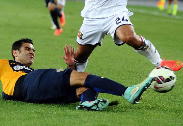 El mexicano Rafael Márquez juega su primera temporada con el Hellas Verona, modesto club de Italia cuyo objetivo principal es no descender de categoría. (huffingtonpost.com/Foto de archivo)