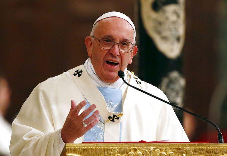 El Papa pidió a los políticos que prevalezcan la paz y justicia en Siria. (Foto: Contexto)